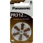 Batterie f. Hörgeräte Panasonic PR 312