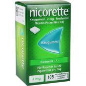 Nicorette 2mg Freshmint Kaugummi