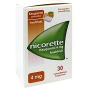 Nicorette 4mg Freshfruit Kaugummi
