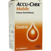 Accu-Chek Mobile Kontrolllösg 4Einmalapplikationen
