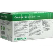 OMNICAN FINE PEN KANUELE 0.33X12MM