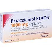 Paracetamol STADA 1000mg Zäpfchen