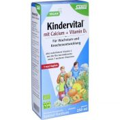 Kindervital mit Calcium + D3 Tonikum bio Salus