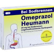 Omeprazol Heumann 20mg b Sodbr. magensaftr.Hartk.