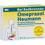 Omeprazol Heumann 20mg b Sodbr.magensaftr.Hartk. günstig im Preisvergleich
