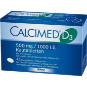 Calcimed D3 500mg/1000 I.E.