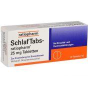 Schlaf Tabs-ratiopharm 25mg Tabletten