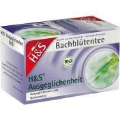 H&S Bachblüten Ausgeglichenheits-Tee