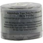 Kinesiologie Tape 5cmx5m schwarz