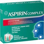 Aspirin Complex Heissgetränk