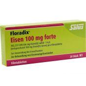Floradix Eisen 100mg forte