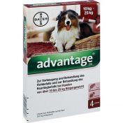 Advantage 250 für Hunde Einzeldosispipetten vet.