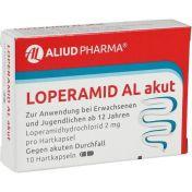 Loperamid AL akut günstig im Preisvergleich