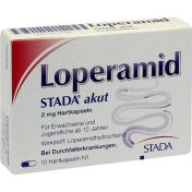 Loperamid STADA akut 2mg Hartkapseln