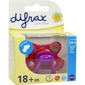 Difrax Schnuller dental 18+M