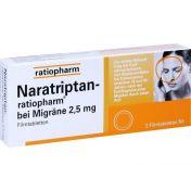 Naratriptan-ratiopharm bei Migräne