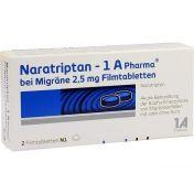Naratriptan - 1 A Pharma bei Migräne 2.5mg Filmtab