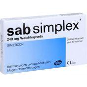 Sab Simplex 240mg Weichkapseln günstig im Preisvergleich