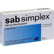 Sab Simplex 240mg Weichkapseln