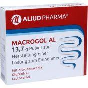 Macrogol AL 13.7g Pulver z. Herstellung e. Lösung günstig im Preisvergleich