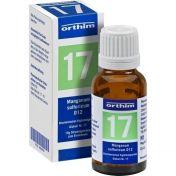 Biochemie Globuli Nr.17 Manganum sulfuricum D12 günstig im Preisvergleich