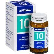 Biochemie Orthim Nr. 10 Natrium sulfuricum D 6 günstig im Preisvergleich