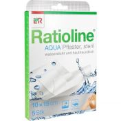 Ratioline aqua Duschpflaster Plus steril 10x15cm