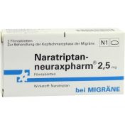 NARATRIPTAN-NEURAXPHARM 2.5mg