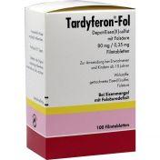 Tardyferon-Fol Depot-Eisen(II)-sulfat mit Folsäure