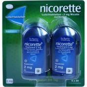 Nicorette freshmint 2mg Lutschtabletten gepresst