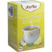 YOGI TEA INGWER ZITRONE BIO