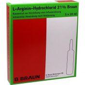 L-Arginin-Hydrochlorid 21% Elek.-Konz.Inf.-Ls