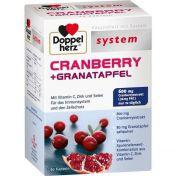 Doppelherz Cranberry + Granatapfel system