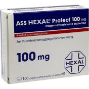ASS HEXAL Protect 100mg magensaftresistente Tab
