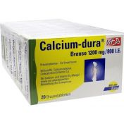 Calcium-dura Vit D3 Brause 1200mg/800I.E.