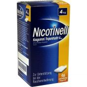 Nicotinell Kaugummi Tropenfrucht 4mg