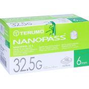 TERUMO NANOPASS 32.5 Pen Kanüle 0.22x6 mm