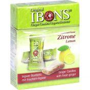 IBONS Zitrone Ingwerkaubonbons Original Schachtel