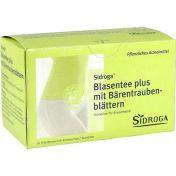 Sidroga Blasentee plus mit Bärentraubenblättern