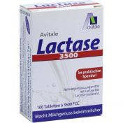 Lactase 3500 FCC Tabletten im Klickspender