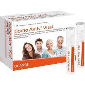 biomo Aktiv Vital Trinkflaschen 14 Tagesportionen
