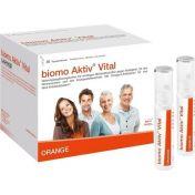biomo Aktiv Vital Trinkflaschen 30 Tagesportionen