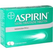 Aspirin 500mg überzogene Tabletten