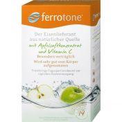 Ferrotone Eisen mit Apfel