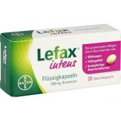 Lefax intens Flüssigkapseln 250mg Simeticon