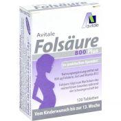 Folsäure 800 Plus B12 + Jod