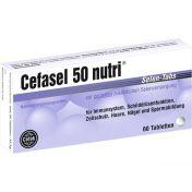 Cefasel 50 nutri Selen-Tabs
