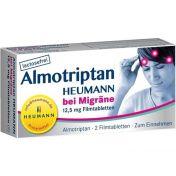 Almotriptan Heumann bei Migräne 12.5mg Filmtabl.