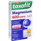 taxofit Magnesium 600 Forte Depot Tabletten