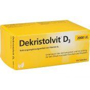 Dekristolvit D3 2000 I.E.